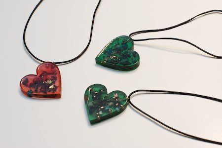 green orgone jewelry